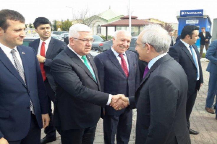 Kılıçdaroğlu, Ergene'yi ziyaret etti