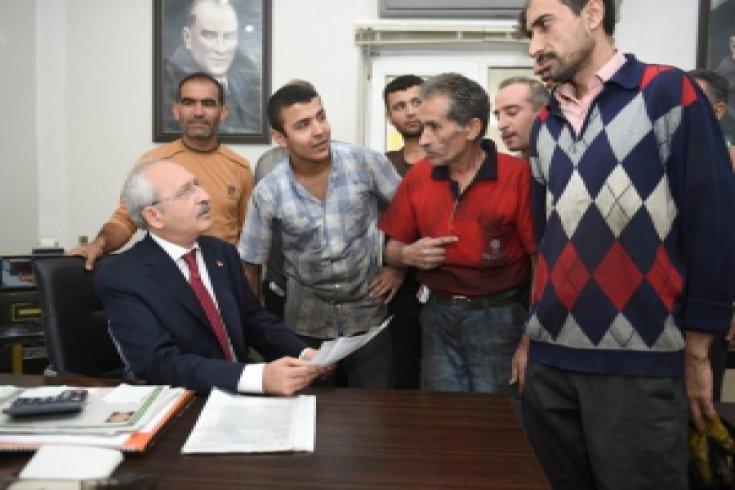 Kılıçdaroğlu, Gaziantep esnafını dinledi