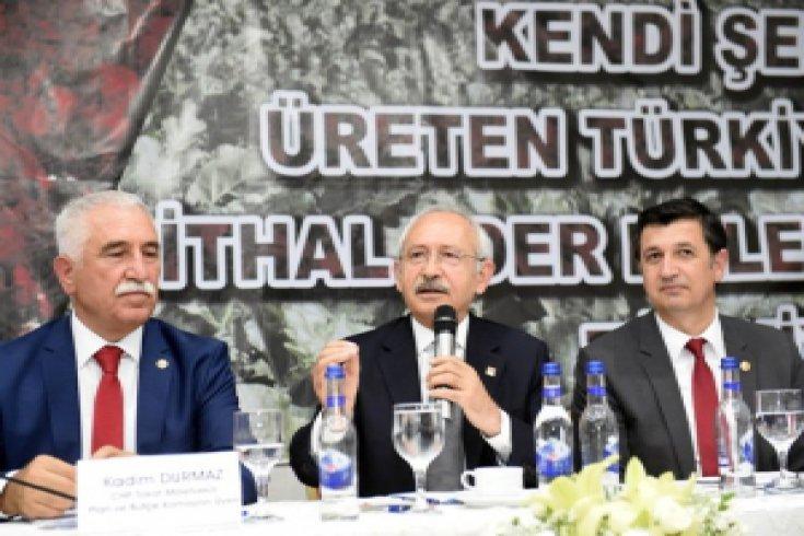 Kılıçdaroğlu, 'Geçmişten Günümüze Şeker Pancarı' paneline katıldı