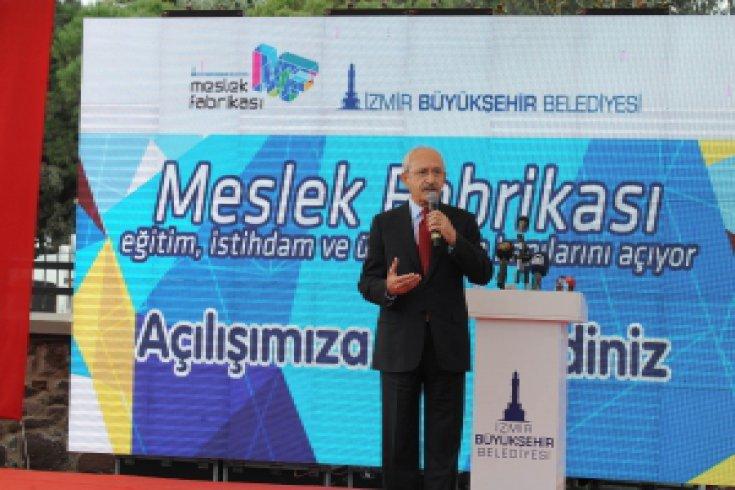 Kılıçdaroğlu, Meslek Fabrikasının açılışını yaptı