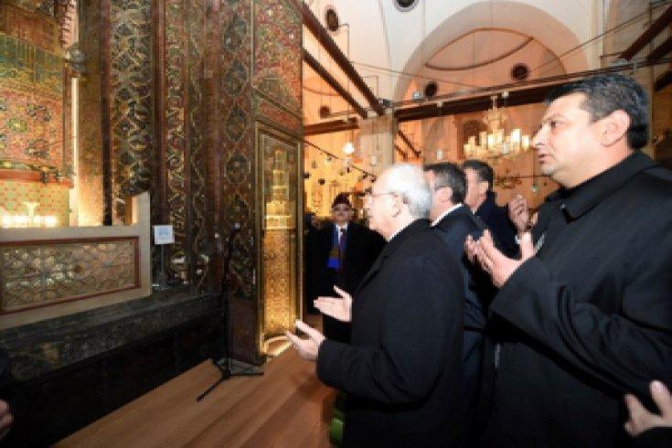 Kılıçdaroğlu, Mevlana'yı ziyaret etti