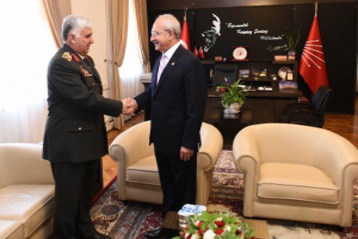 Kılıçdaroğlu, Necdet Özel' i kabul etti