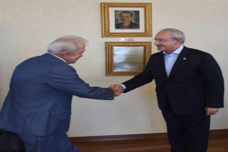 Kılıçdaroğlu, Türkiye Ormancılık Kooperatifleri Merkez Birliği ile görüştü