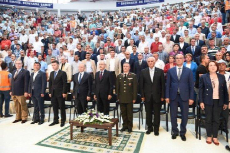 Kılıçdaroğlu, Uluslararası Hacı Bektaş-ı Veli'yi Anma Törenlerine katıldı