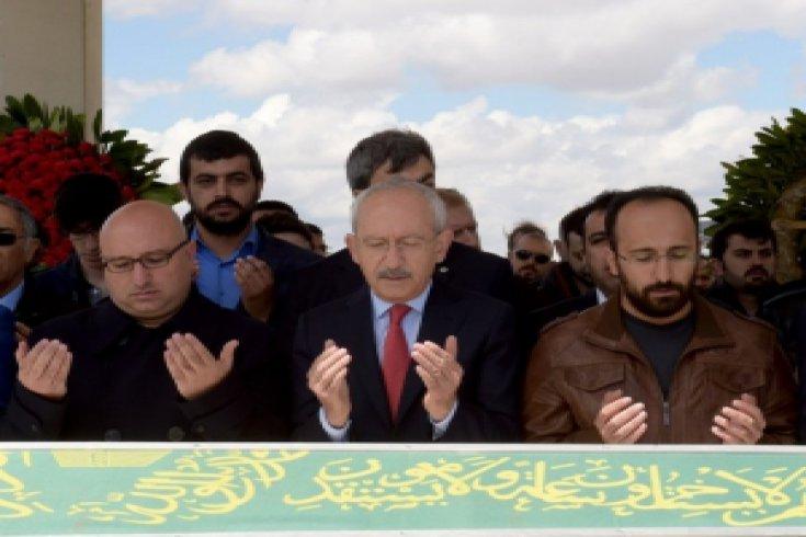 Kılıçdaroğlu, Veysi Gürsul'un cenazesine katıldı