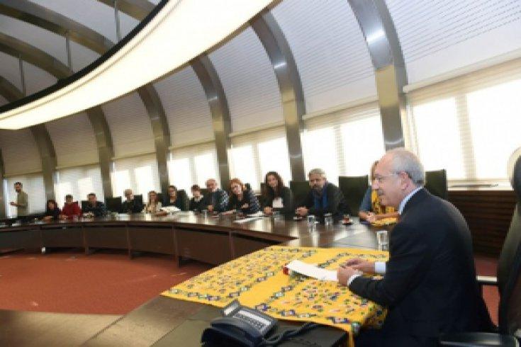 Kılıçdaroğlu'na Ekoloji Örgütleri Platformu'ndan ziyaret