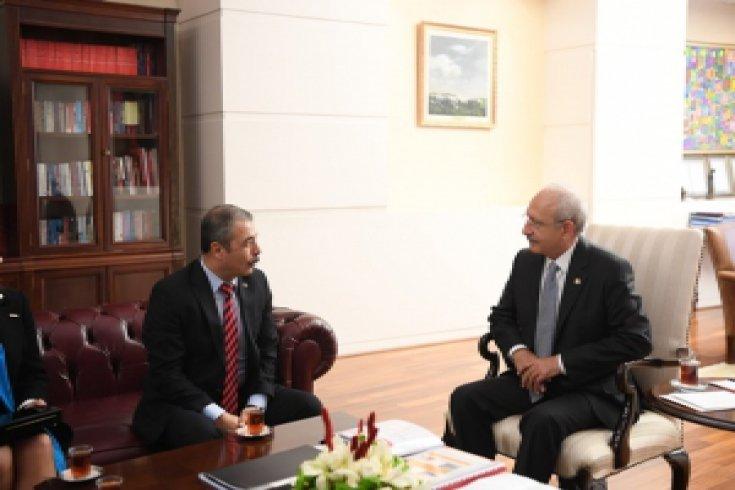 Kemal Kılıçdaroğlu, Eğitim-İş heyetini kabul etti