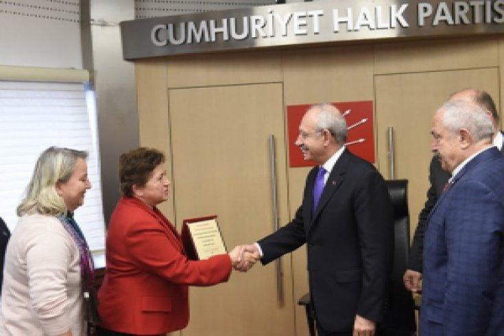 Kemal Kılıçdaroğlu Kastamonu  sivil toplum kuruluşları ile bir araya geldi