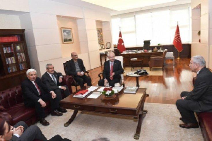 Kılıçdaoğlu 'Milli Anayasa Hareketi' heyetini kabul etti