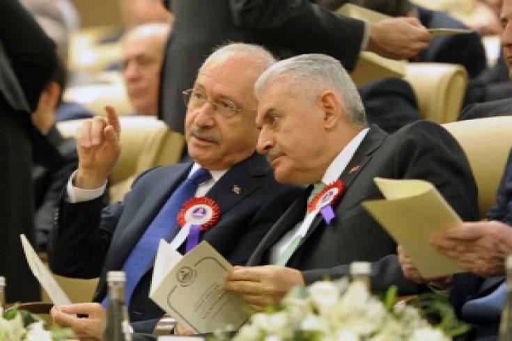 Kılıçdaroğlu, Anayasa Mahkemesinin 55. Kuruluş yıldönümü törenine katıldı