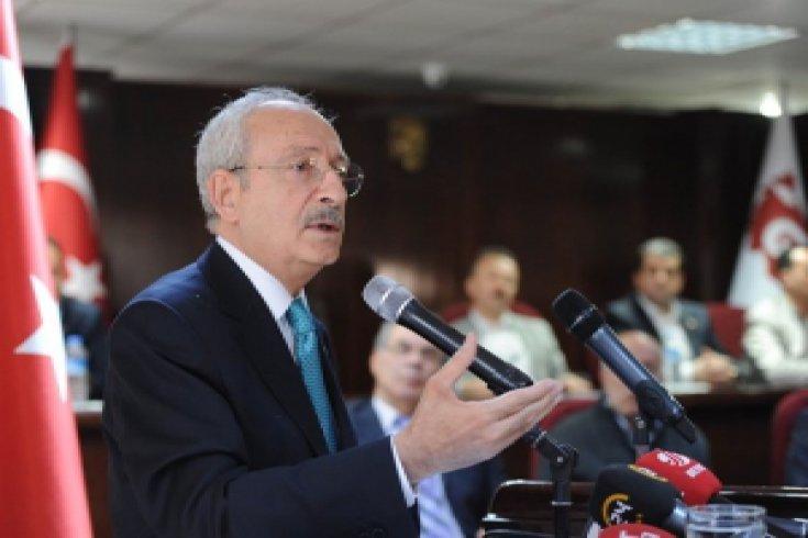 Kılıçdaroğlu, Ankara'da (GİMAT) Gıda ve İhtiyaç Maddeleri Ankara Toptancılar Derneği'ni ziyaret etti