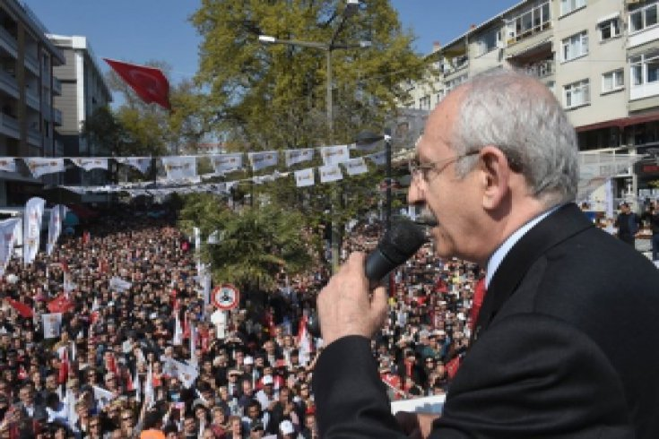 Kılıçdaroğlu, Avcılar'da coşkuyla karşılandı