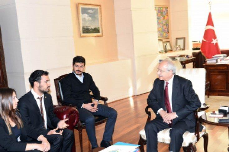 Kılıçdaroğlu, Başkent Üniversitesi Genç Liderler Topluluğunu kabul etti