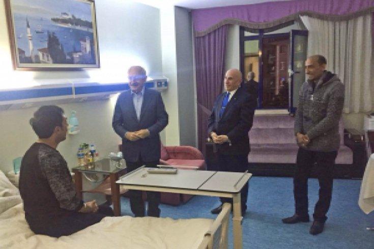 Kılıçdaroğlu, bugün hastane ziyaretlerinde bulundu