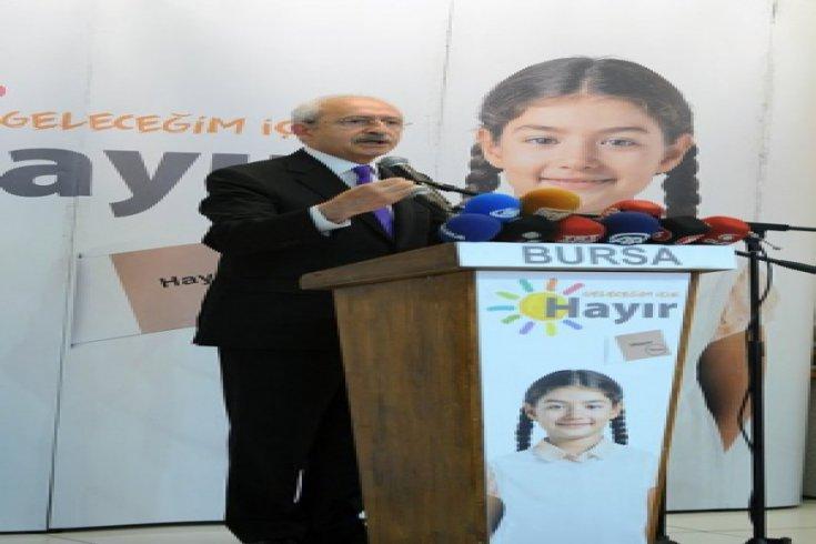 Kılıçdaroğlu, Bursa'da STK temsilcileriyle buluştu