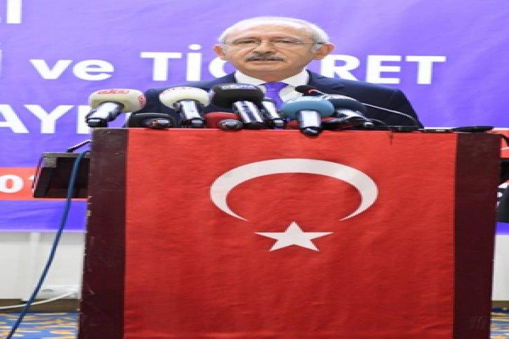 Kılıçdaroğlu çeşitli temaslarda bulunmak üzere geldiği Denizli'de basın toplantısı düzenledi