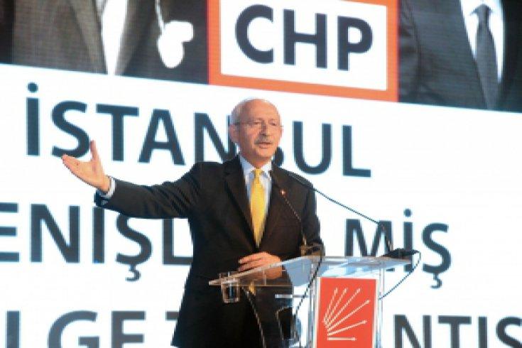Kılıçdaroğlu, CHP İstanbul Genişletilmiş 1. Bölge Toplantısı'na katıldı