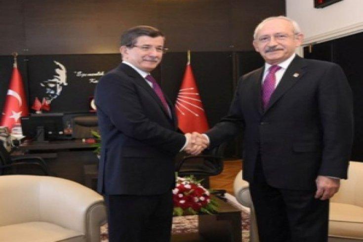 Kılıçdaroğlu, Davutoğlu'yla görüştü
