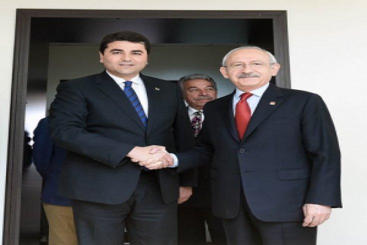 Kılıçdaroğlu, Demokrat Parti Genel Başkanı Gültekin Uysal'la görüştü