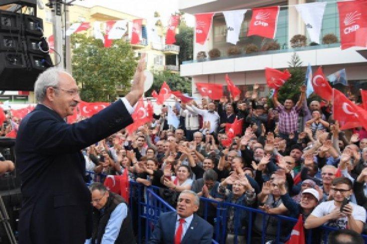 Kılıçdaroğlu, Denizli CHP İl Başkanlığı'nın yeni hizmet binasını açtı