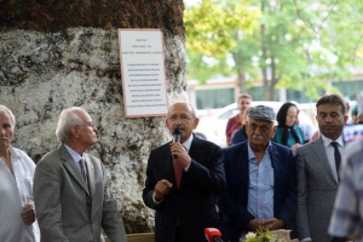 Kılıçdaroğlu, Esmahanım köyünü ziyaret etti