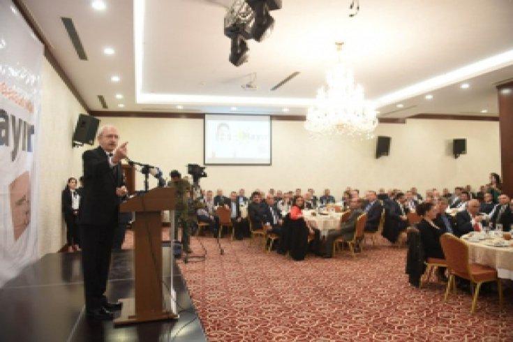 Kılıçdaroğlu, Gebze'de muhtarlarla buluştu