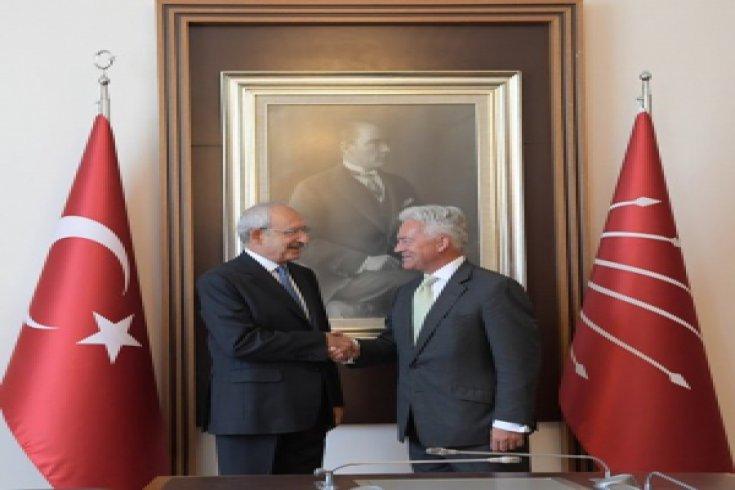 Kılıçdaroğlu, İngiliz Bakan Alan Duncan'ı kabul etti