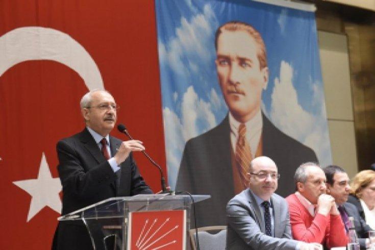 Kılıçdaroğlu, İstanbul'da Trakya - Rumeli Balkan dernekleri ve federasyonlarının temsilcileriyle buluştu