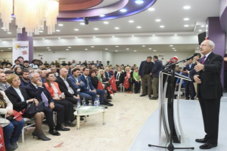 Kılıçdaroğlu, Kocaeli'nde STK  temsilcileriyle bir araya geldi