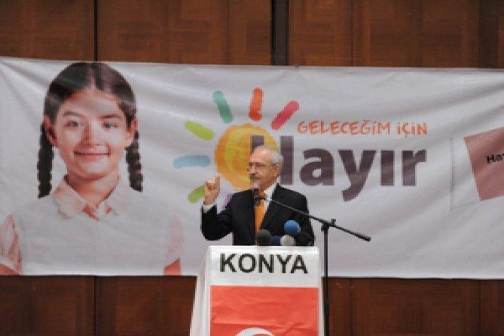 Kılıçdaroğlu, Konya'da STK'larla bir araya geldi
