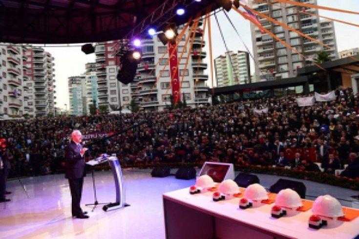 Kılıçdaroğlu, Mezitli Belediyesi'nin toplu açılış törenine katıldı