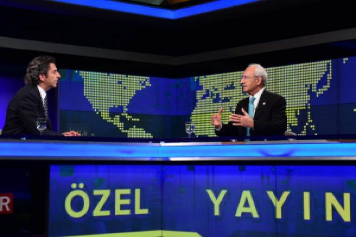 Kılıçdaroğlu, özel yayınla TRT ekranlarında