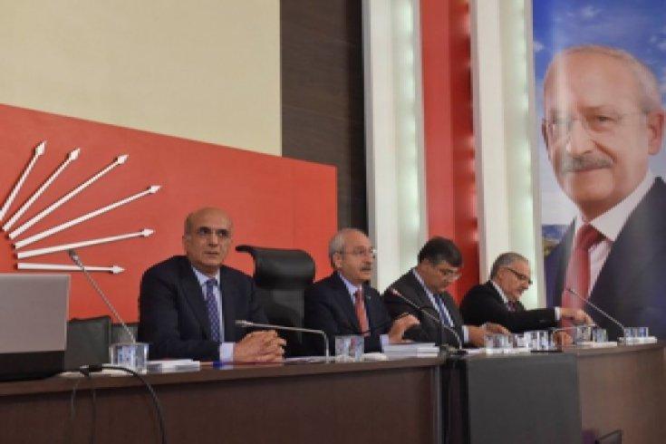 Kılıçdaroğlu, Parti Meclisini Genel Merkez İsmail Cem Salonunda  topladı