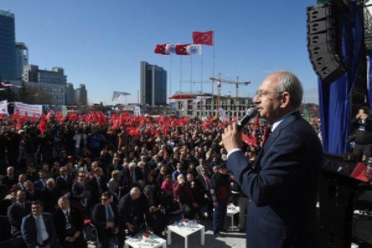 Kılıçdaroğlu, Sarıyer Beledıyesinin yeni hizmet binasının açılışını gerçekleştirdi