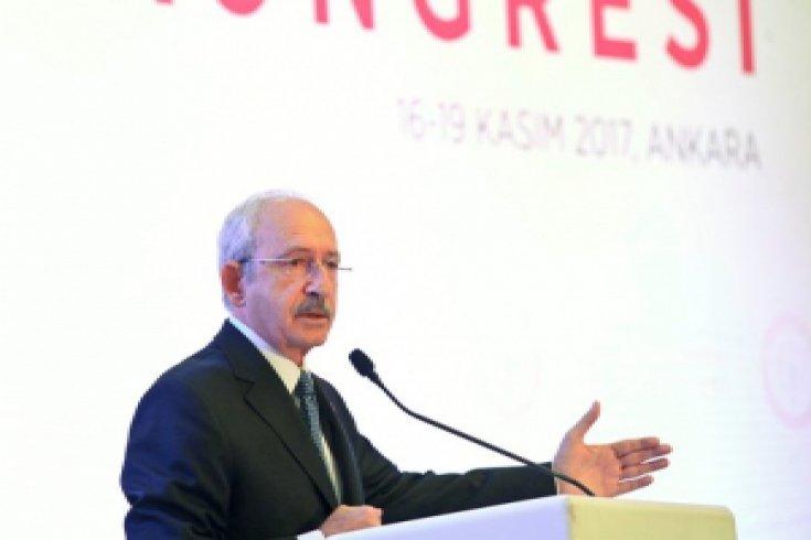 Kılıçdaroğlu, Türk Eczacıları Birliği Kongresi'ne katıldı
