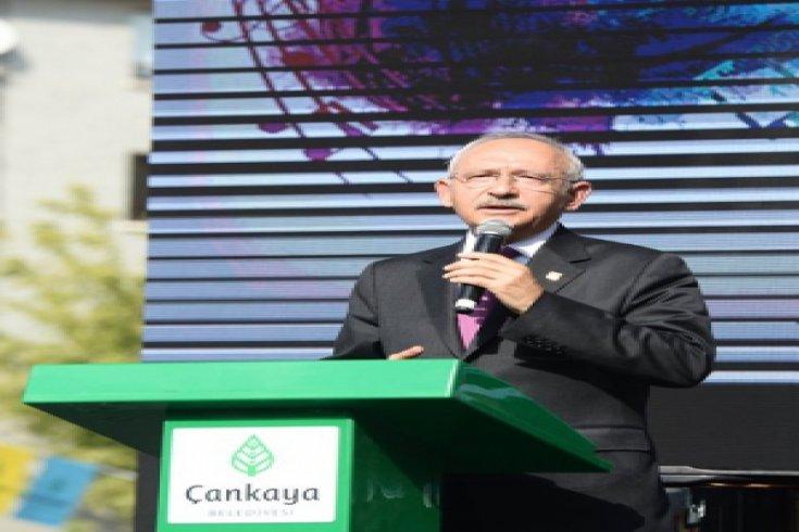 Kılıçdaroğlu, Zülfü Livaneli Kültür Merkezi'nin açılışına katıldı