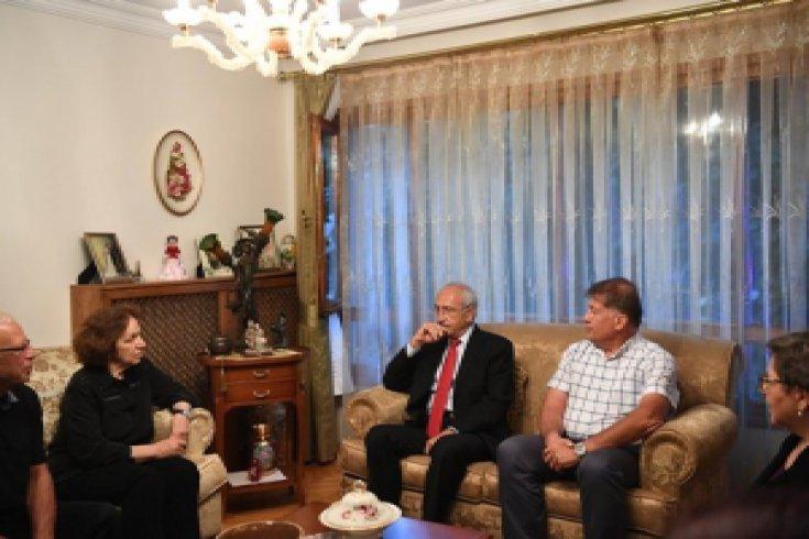 Kılıçdaroğlu'ndan Emin Özdemir'in ailesine taziye ziyareti |