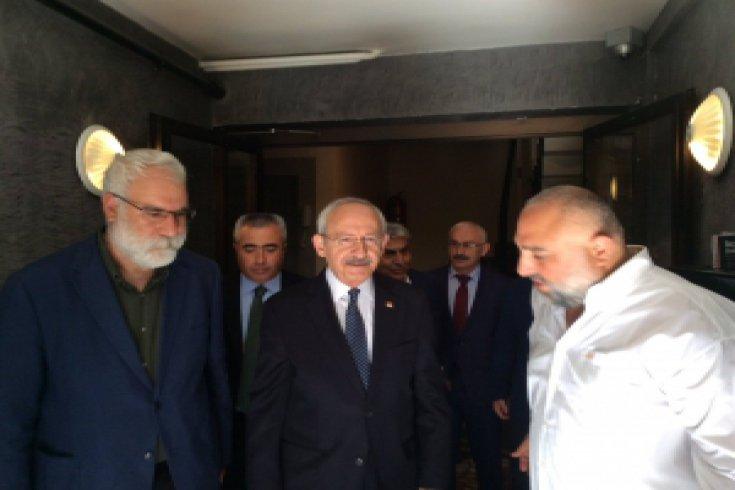 Kılıçdaroğlu'ndan Kamber Doğan'ın ailesine taziye ziyareti
