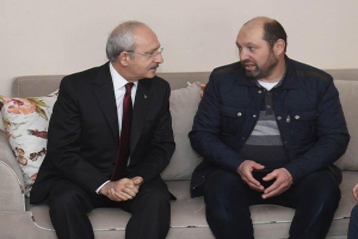 Kılıçdaroğlu'ndan, şehit Uzman Onbaşı Ramazan Taşkın'ın ailesine taziye ziyareti