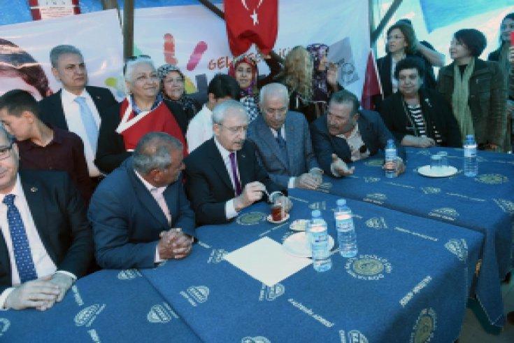 Kılıçdaroğlu'ndan Temelli'ye ziyaret
