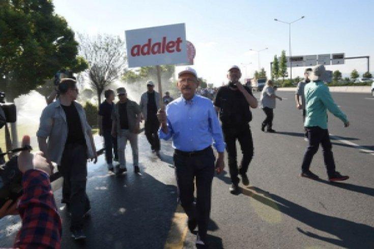 Kılıçdaroğlu'nun Adalet Yürüyüşü'nün 2. günü