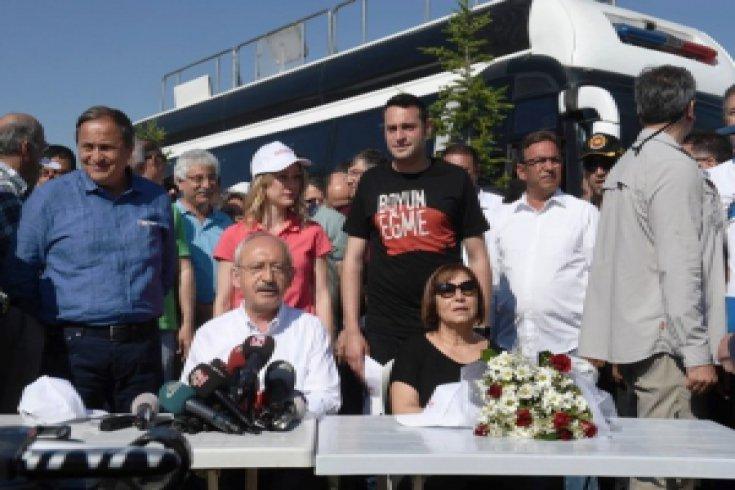Kılıçdaroğlu'nun Adalet Yürüyüşü'nün 3. günü