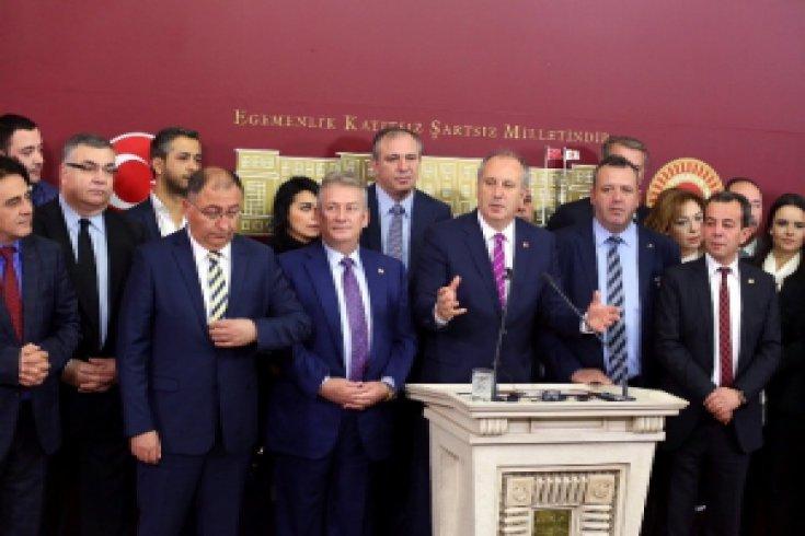 Muharrem İnce'den CHP yönetimine sert sözler