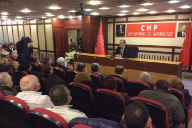 Seyfi Erbaş, CHP İstanbul İl Başkan adaylığını açıkladı