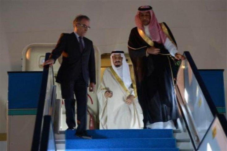 Suudi Kralı Selman Antalya'da