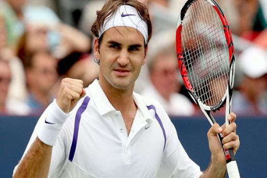 Federer rüzgar gibi