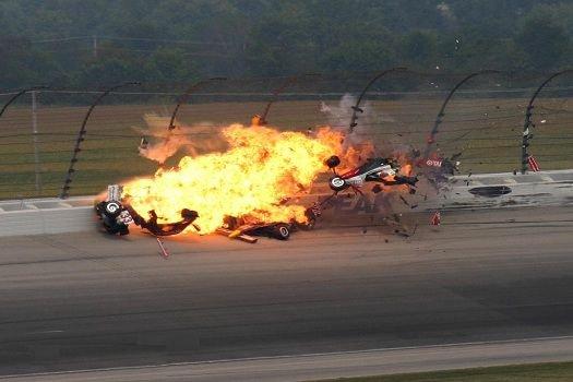 IndyCar pilotunun hazin sonu
