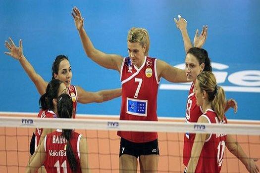 Vakıfbank Türk Telekom ikincilikte kaldı