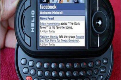 Facebook'a özel telefon