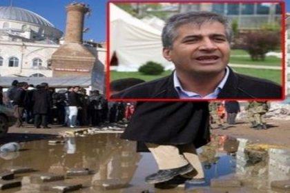 Hayrına yaptırdığı caminin minaresi de yıkıldı